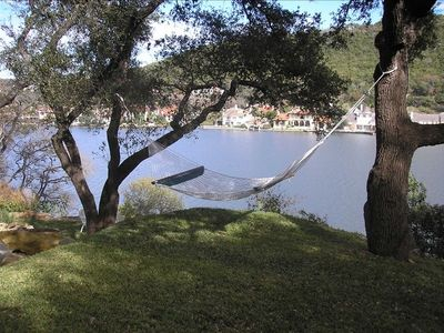 Peaceful Hammock with beautiful view of Lake Austi
