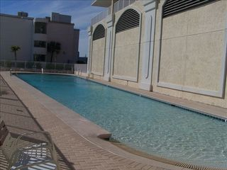 Gulf Shores condo photo - Float in the beachside outdoor, zero entry pool.