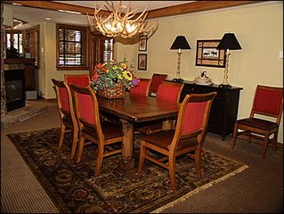 Vail townhome photo - Dining Area for 8