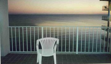 Orange Beach condo rental - My favorite spot and time of day...Tranquility abounds. Just waiting for you...