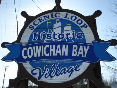Welcoming you to the village of Cowichan Bay