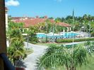View of the pool from our private balcony - Clearwater condo vacation rental photo