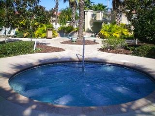 Regal Palms townhome photo - Outdoor Hot Tub with jazuzzi (also one inside)