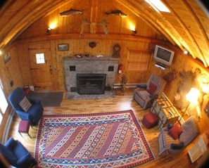 Burt Lake cabin photo - Living room