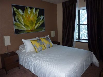 Stateline condo rental - Queen Bedroom - on 1st floor