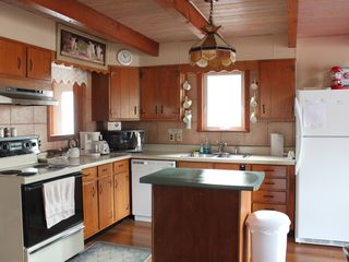 Whiteface Mountain chalet photo - Well equipped kitchen ready for preparing a feast