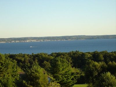 Breathtaking views of Little Traverse Bay!