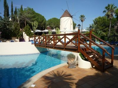 Los Molinos villa rental - community pool