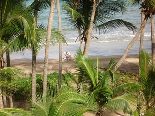 Humacao condo photo - View of Beach from Deck