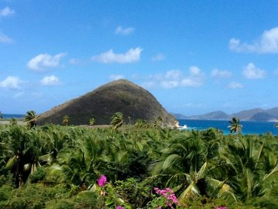 The Palm Grove with Jost Van dyke beyond