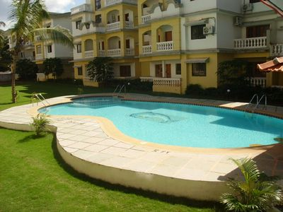 South Goa apartment rental - Imperial Residency Swimming Pool and Gardens
