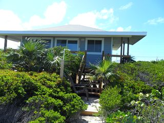 Staniel Cay cottage photo - View from the beach
