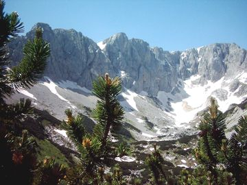 Durmitor National Park scenery