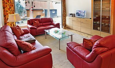 Centrally located in the climatic health resort and winter resort of Braunlage, park 2min, 1min indoor pool