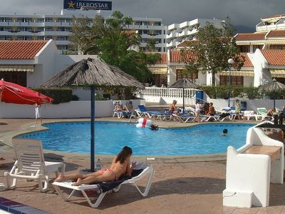 Costa Adeje apartment rental - One of the two pools in Garden City