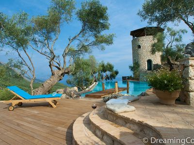 Luxury Private Villa With Large Pool & Panoramic Sea & Mountain Views