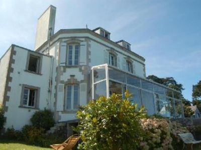 Beautiful villa with front sea location - magnificent view over Douarnenez Baie