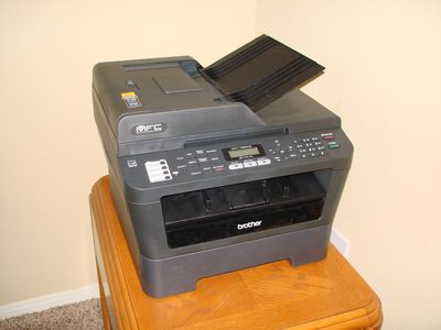 Palm Desert house rental - Brother wireless printer, fax copier, download apps for laptop and/or smartphone