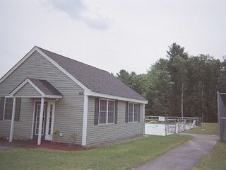 Laconia townhome photo - Pool and club house