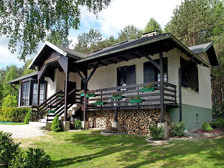 Vacation home Trzy Brzozy  in Parchowo - Karlowo, Pomerania - 8 persons, 3 bedrooms