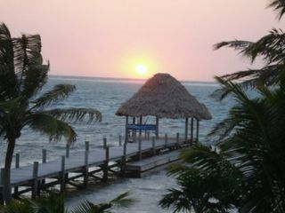 Ambergris Caye house photo - Sunrise and Palapa