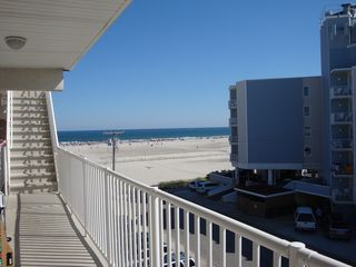 Wildwood Crest condo photo - View from the door of our Condo