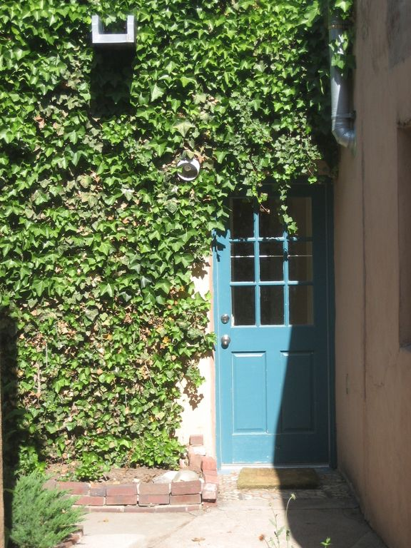 Santa Fe cottage rental - Entrance Door