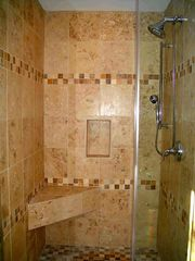 Woodstock house photo - Large Master Shower
