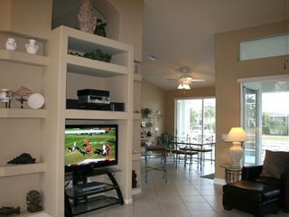 Vacation Homes in Marco Island house photo - Catch a game on the HD TV.