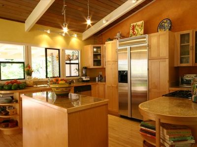 Full Kitchen with all your culinary needs for group entertaining.