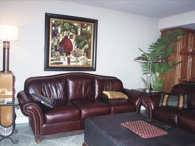 Family room enjoy large screen TV