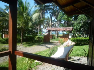 Beach front luxury Bungalow, Playa Grande, peaceful haven