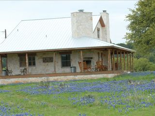 Mason lodge photo - Exterior Spring Bluebonnet Time in the back yard.
