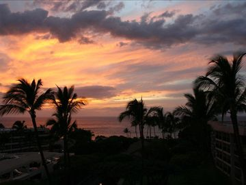 As someone blows a conch in the distance, another marvellous day ends in Maui.