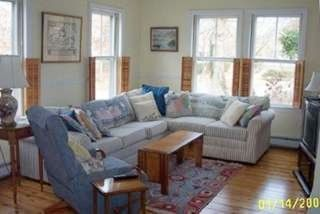 Cotuit house photo - Living room