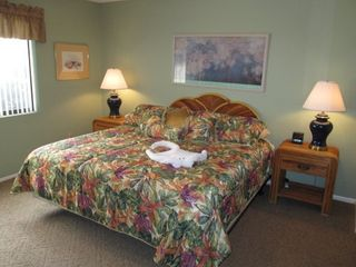 St. Augustine Beach condo photo - Master Bedroom with King Bed