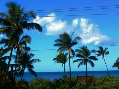 Kihei condo rental - Location, location, location! This is our view.