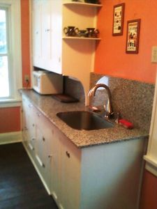 Stylish Granite Counters and Modern Fixtures were Recently Installed