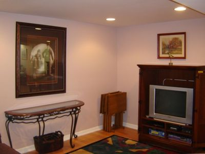 Harbor Springs house rental - Lower level entertainment area