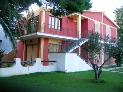 apartment porto pino 300 meter from the beach