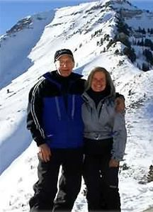 "Your hosts, Terry and Karen, welcome you to the ""greatest  snow on earth""."