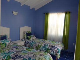 Curacao townhome photo - 2 single beds in the loft with access to the deck