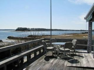 Pocasset house photo - View from deck, accessible from kitchen, living room, Master Bedroom