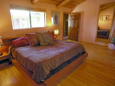 Sedona house rental - Master Bedroom Suite