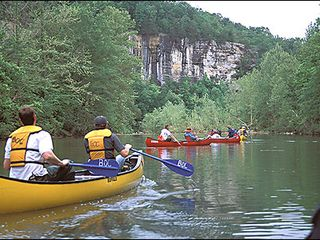 Greers Ferry Lake lodge photo - Canoeing on Buffalo River