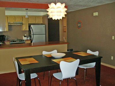 Kitchen features dishwasher, disposal, oven/stove and tons of counter space!