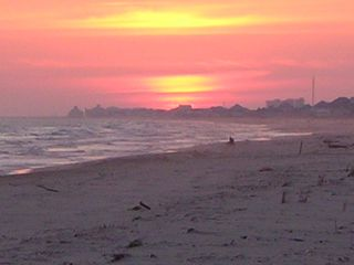 Gulf Shores cottage photo - Beach Sunset