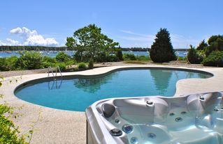 Pocasset house photo - Hot Tub View