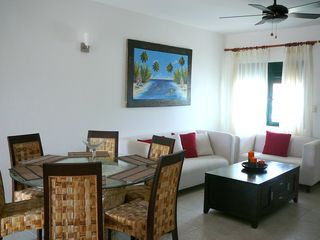 Punta Cana condo photo - Spcious and Comfortable Dining/Living area for 6!