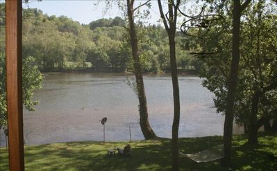 View of River from Screened Porch